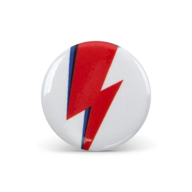 David Bowie Bowie Bolt Button Pin