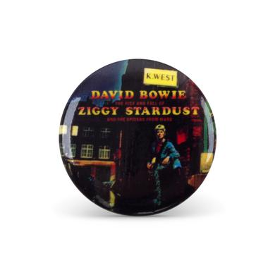 David Bowie Bowie Ziggy Stardust Button Pin