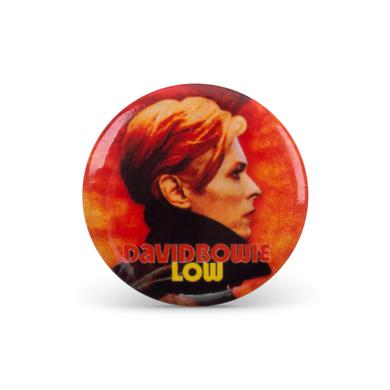 David Bowie Bowie Low Button Pin