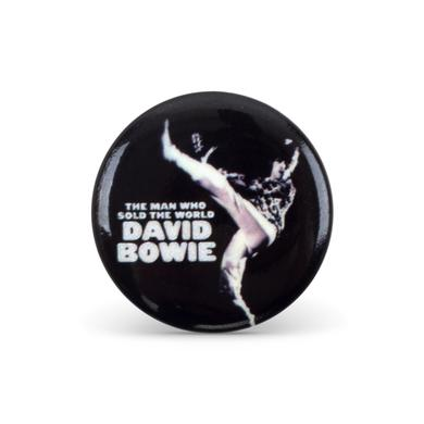 David Bowie Bowie Sold The World Button Pin