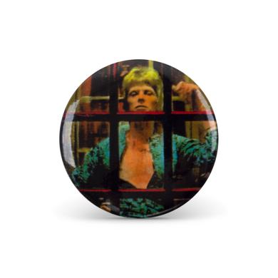 David Bowie Bowie Booth Button Pin