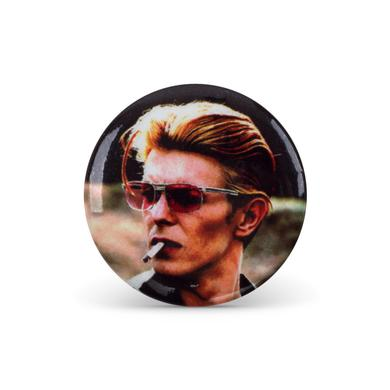 David Bowie Bowie Cigarette Button Pin