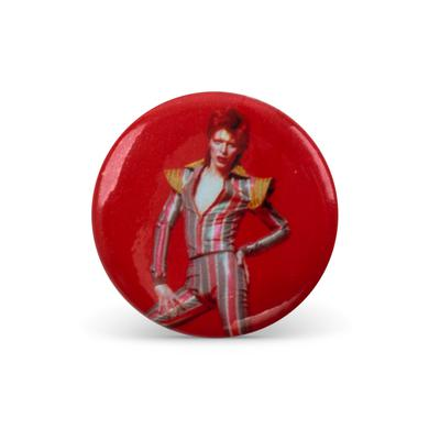 David Bowie Bowie Stare Button Pin