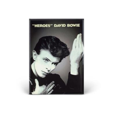 David Bowie Bowie Heroes Magnet