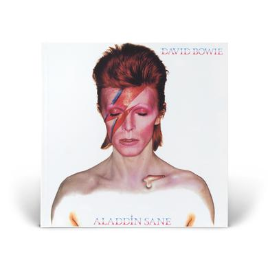 David Bowie Aladdin Sane White Notebook