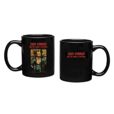 David Bowie Ziggy Stardust Black Mug