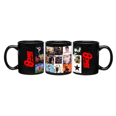 David Bowie Album Covers Mug