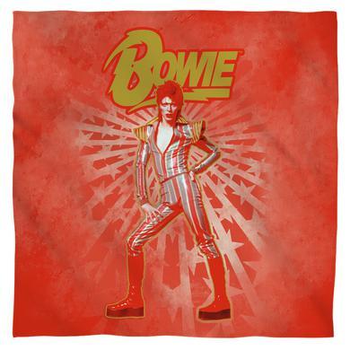 David Bowie/Stars - Bandana - White [22 X 22]