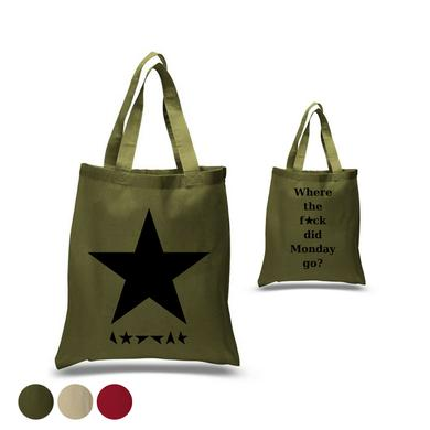 David Bowie Where The F*ck Did Monday Go Tote Bag