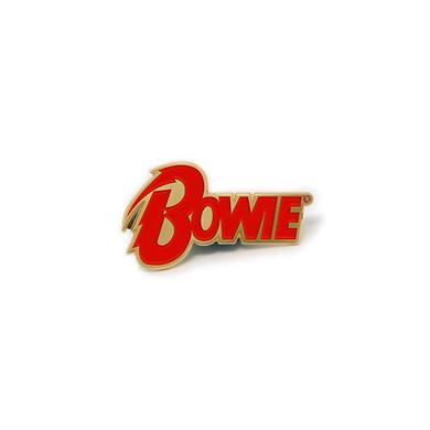 David Bowie Diamond Dogs' Logo Pin