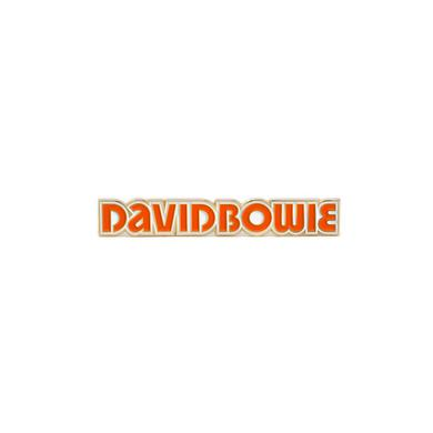 David Bowie Low Logo Pin