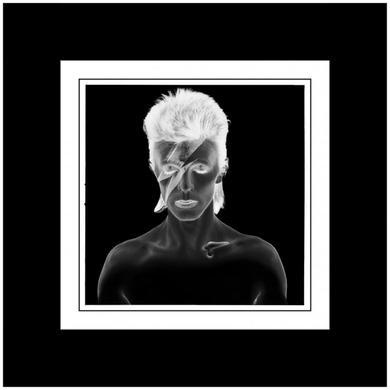 David Bowie Duffy 'Aladdin Sane B/W Negative' Print (Mounted, Black)