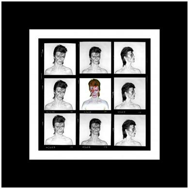David Bowie Duffy 'Aladdin Sane Demi Contact' Print (Mounted, Black)