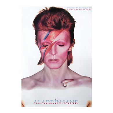 David Bowie Aladdin Sane Poster