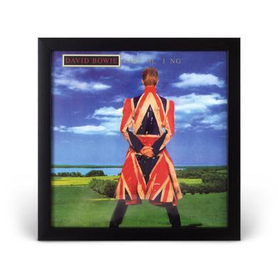 David Bowie Earthling Framed Litho