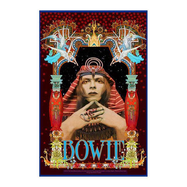 David Bowie Pharaoh Poster by Bob Masse