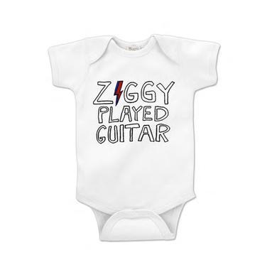 David Bowie Ziggy Played Guitar Onesie