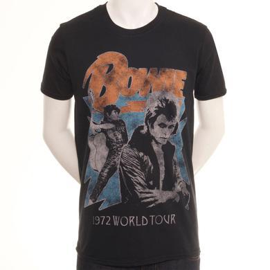 David Bowie 1972 World Tour Men's Tee