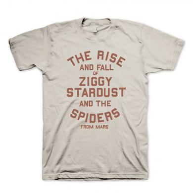 David Bowie The Rise and Fall of Ziggy Stardust T-Shirt