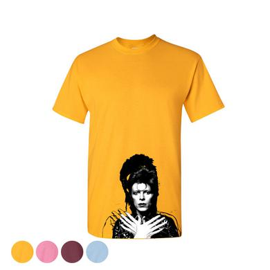 David Bowie Women's Wig Out Graffiti T-Shirt