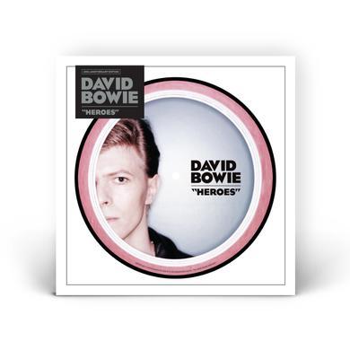 """David Bowie Heroes (7"""" Vinyl) 7"""" LP"""