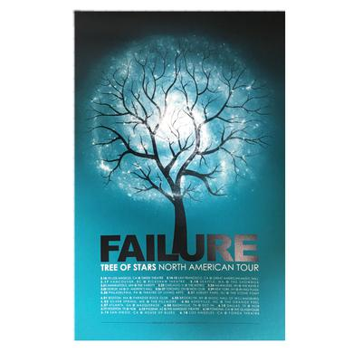 Failure Blue Tree of Stars Tour Poster
