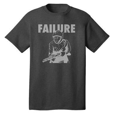 Failure Retro Spaceman Light Grey Tee