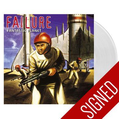 Failure Fantastic Planet Clear Vinyl Signed (2016)