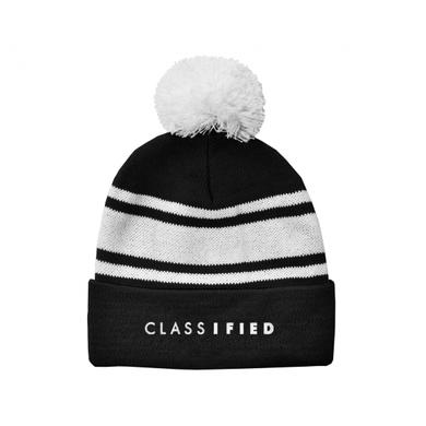 Classified Embroidered Logo Toque