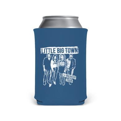 Little Big Town White Silhouette Blue Koozie