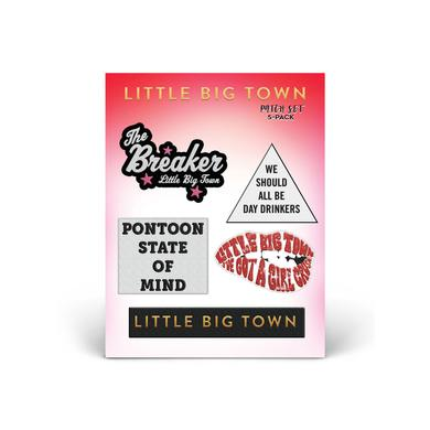 Little Big Town The Breaker Tour Patch Set