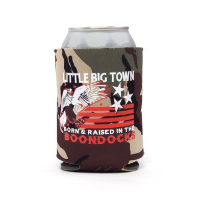 Little Big Town Born & Raised Camo Koozie