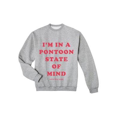Little Big Town Pontoon State of Mind Grey Crewneck Sweatshirt