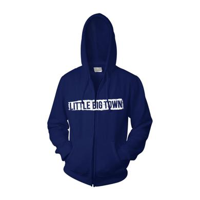 Little Big Town The Breakers Tour Royal Blue Zip Sweatshirt