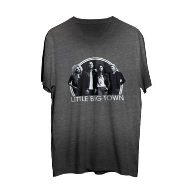 Little Big Town Grey Photo T-Shirt