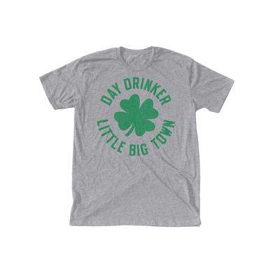 Little Big Town Day Drinker Shamrock Heather Grey T-Shirt