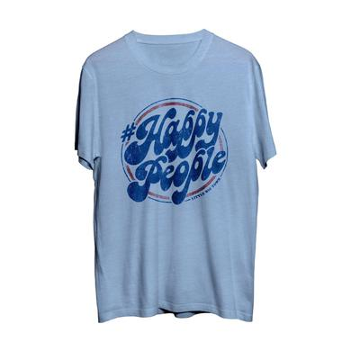 Little Big Town Happy People Light Blue T-Shirt