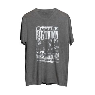 Little Big Town Ryman Auditorium 2017 Heather Grey Event Tee