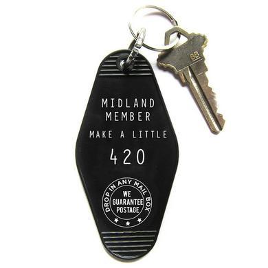 Midland Member Hotel Keychain