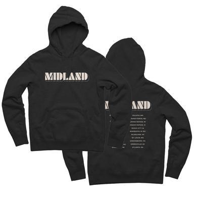 Midland Stencil Logo Dateback Hoodie
