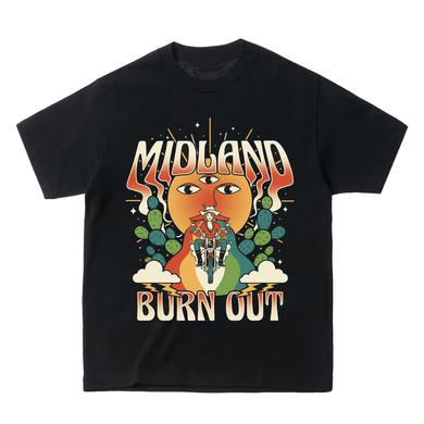 Midland Burn Out Moto T-Shirt