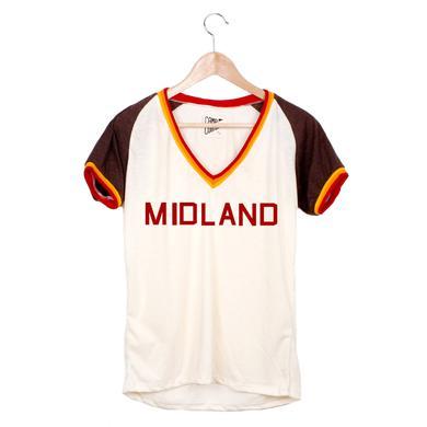 Midland Logo Varsity T-Shirt