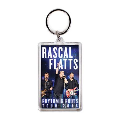 Rascal Flatts Rhythm And Roots 2016 Tour Photo Keychain