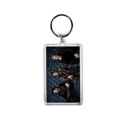 Rascal Flatts Black Couch Photo Keychain