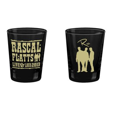 Rascal Flatts Live & Loud Shot Glass