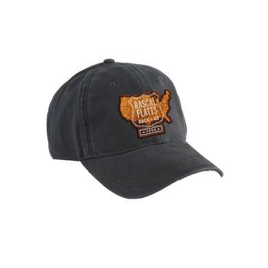 Rascal Flatts USA Map Navy Dad Hat