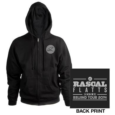 Rascal Flatts Rewind Black Zip Hoodie