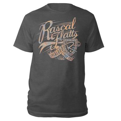 Rascal Flatts Live & Loud Tri-blend T-Shirt