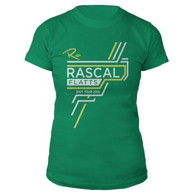 Rascal Flatts Lucky Ladies 2015 Riot Tour T-Shirt