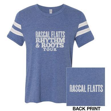 Rascal Flatts Rhythm & Roots Football T-Shirt